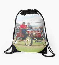Steam Car Drawstring Bag