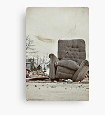 Abandoned Comfort Canvas Print