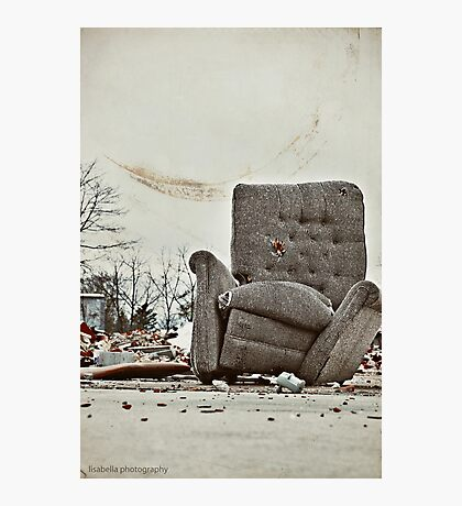 Abandoned Comfort Photographic Print