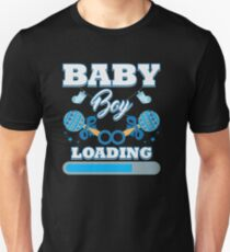 75f547bf63a01 Baby Is Loading Boy Pregnancy Announcement Gift Unisex T-Shirt