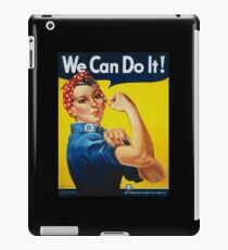 We Can Do It iPad Case/Skin