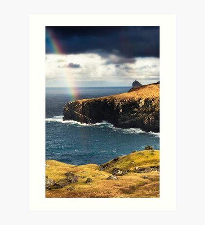 Glen Bay, St Kilda Art Print