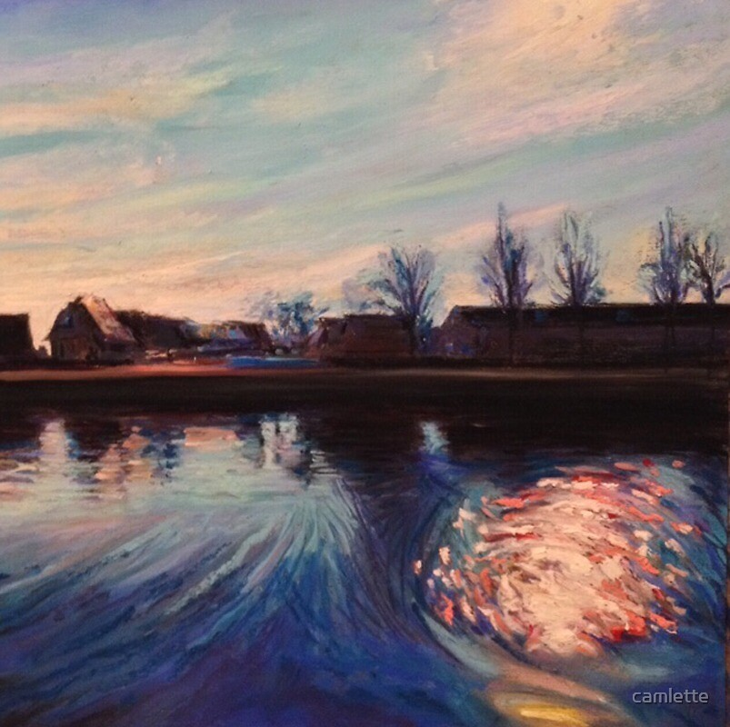 Dutch Light in the Afternoon by Cameron Hampton