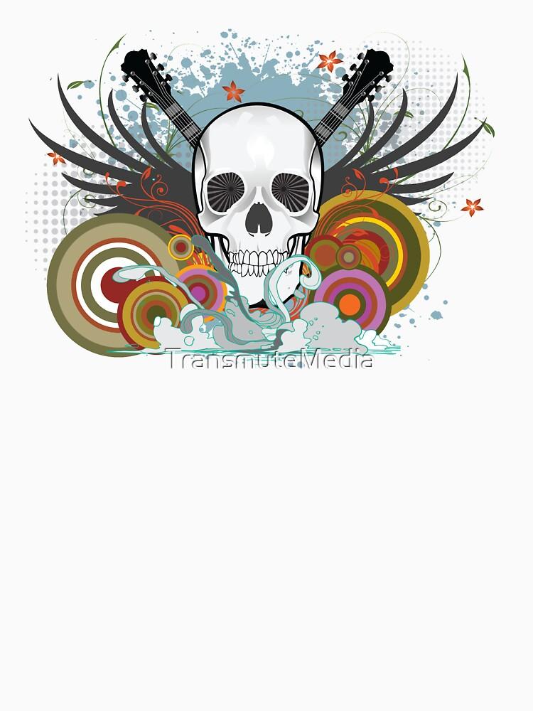 Skull Rock Tee by TransmuteMedia