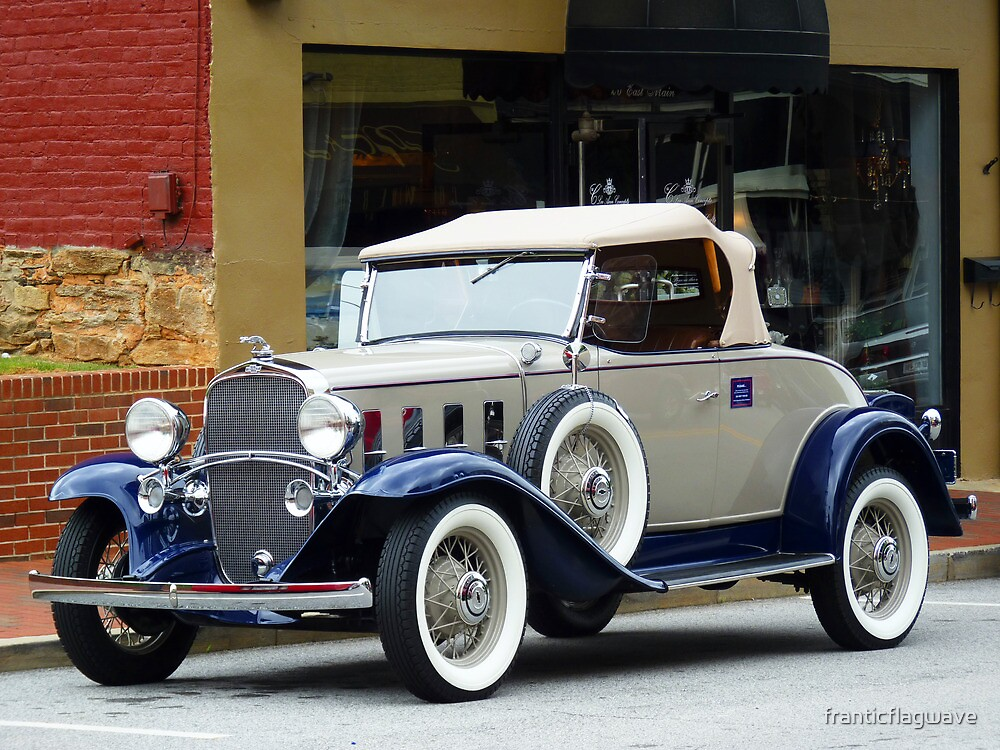 """""""A Sporty Coupe From Another Era In Time"""" by franticflagwave"""