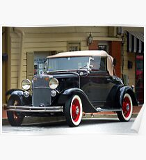 """""""A Classic Gem Of An Automobile Out Of The Past"""" Poster"""