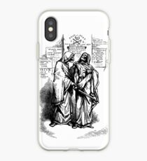 Anarchistische Skelette iPhone-Hülle & Cover