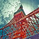 Tokyo Tower by Christophe Mespoulede