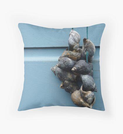 Shells, Leiden Throw Pillow