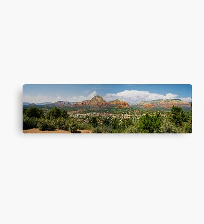 Sedona Panorama Canvas Print