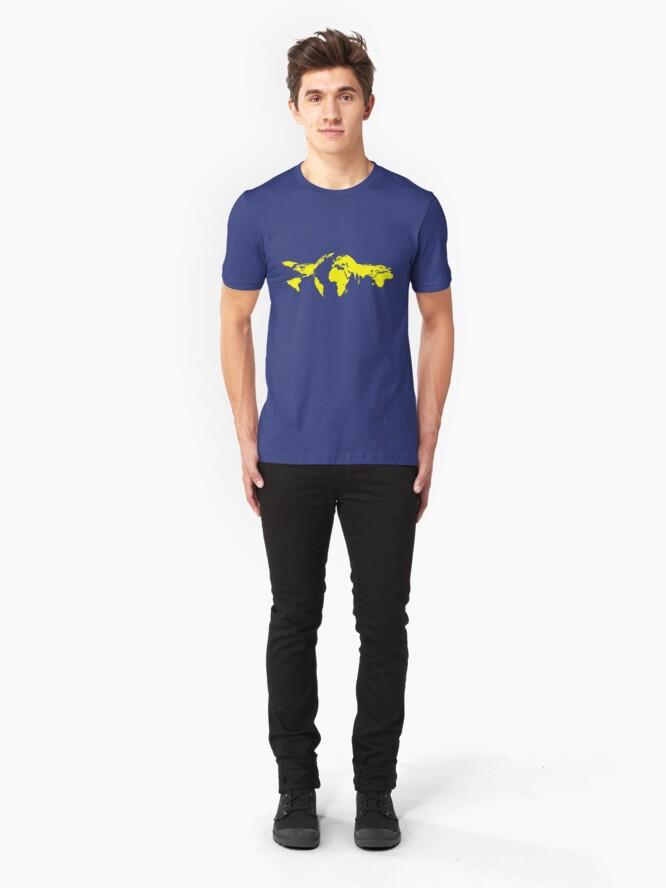 Alternate view of Revolving World Slim Fit T-Shirt
