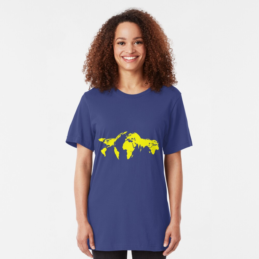 Revolving World Slim Fit T-Shirt