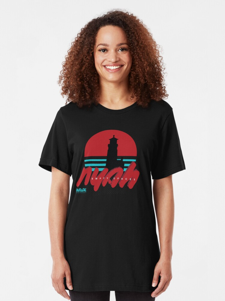 Alternate view of Nyah — Empty Spaces x Florence, OR Slim Fit T-Shirt