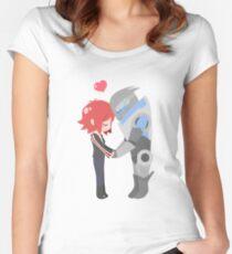 Mass Effect - Shakarian [Shirts, Prints, & Sticker] Women's Fitted Scoop T-Shirt