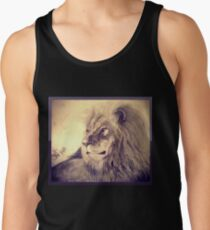 Lion Men's Tank Top