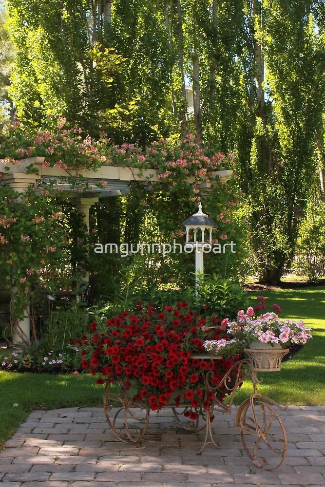 Portrait of a Peaceful Summer Garden by amgunnphotoart