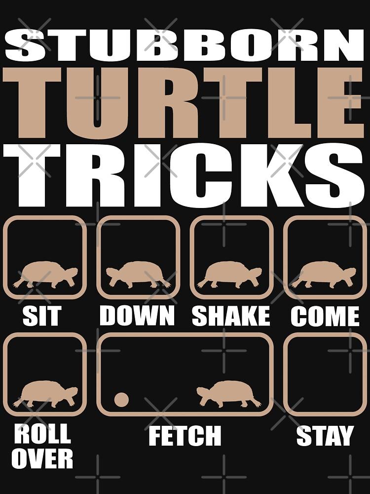Stubborn Turtle Tricks design by Vroomie