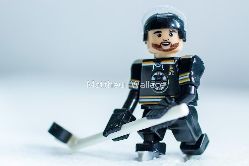 Patrice Bergeron (The Boston Bruins) by Matthew  Wallace