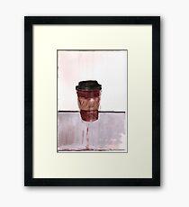 ToGo Cup Framed Print