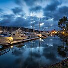 Early Morning Kettering Marina, Tasmania #2 by Chris Cobern