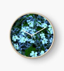 Flower Color Collection Clock