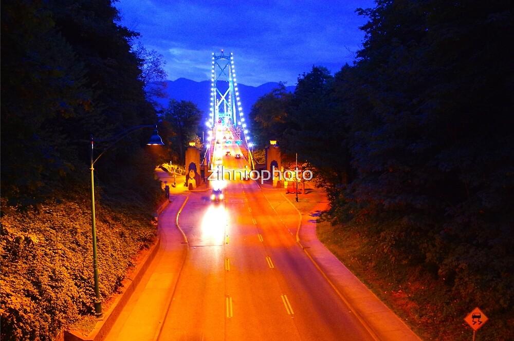 Lions Gate Bridge by zihniophoto