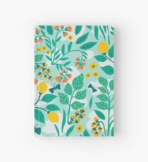Lemony Garden Hardcover Journal