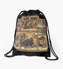 Virgin Mary Inspired Gifts |  view at The Met Gallery 305  Drawstring Bag