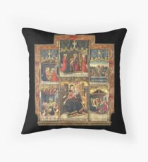 Virgin Mary Inspired Gifts |  view at The Met Gallery 305  Throw Pillow