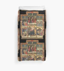 Virgin Mary Inspired Gifts |  view at The Met Gallery 305  Duvet Cover