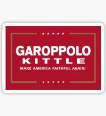 Make America Faithful Again Sticker
