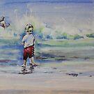 Beach Boy by christine purtle