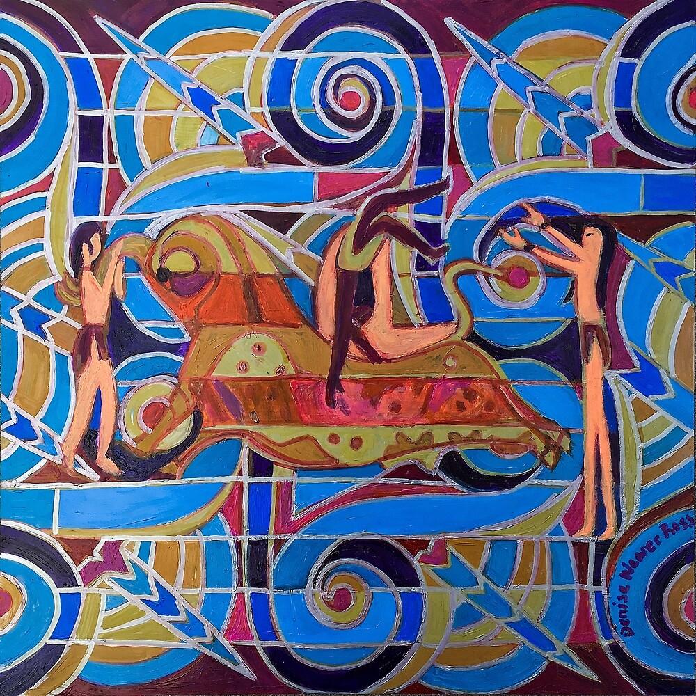 Hexagram 26: Ta Ch'u (Controlled Power) by Denise Weaver Ross