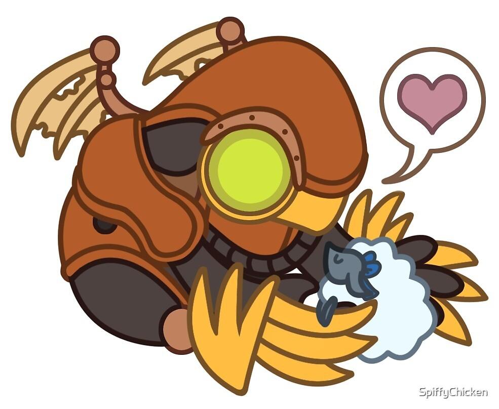 Bioshock Infinite Songbird Sticker by SpiffyChicken