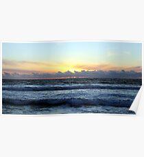 Hermosa Beach Sunset 1231 Poster