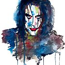 Dripping Vengeance-Watercolor by Beau Singer