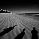 Windswept shadows by Chris Dowd