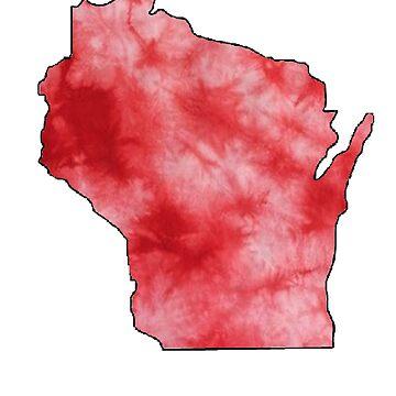 Wisconsin Tie Dye by Hannahj-33