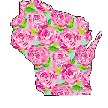 Wisconsin Floral by Hannahj-33