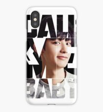 EXO Chanyeol 'Call Me Baby' iPhone Case