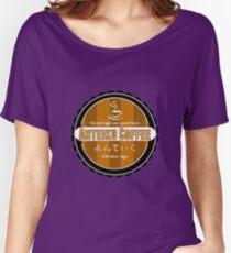 Camiseta ancha para mujer Café Anteiku