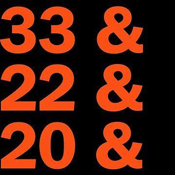 Baltimore Oriole HOFers - orange by welikesports
