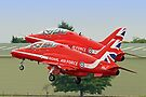 The Red Arrows Depart From Biggin Hill by Colin  Williams Photography