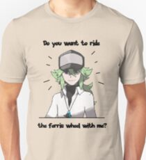 N Harmonia wants to take you for a ride Unisex T-Shirt