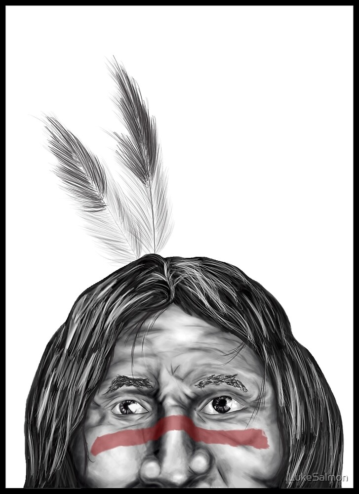 Indian Chief by LukeSalmon
