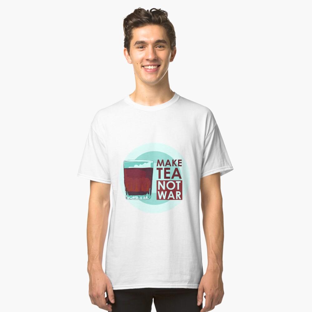 Tea lover Classic T-Shirt Front