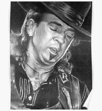 Stevie Ray Vaughan SRV Poster
