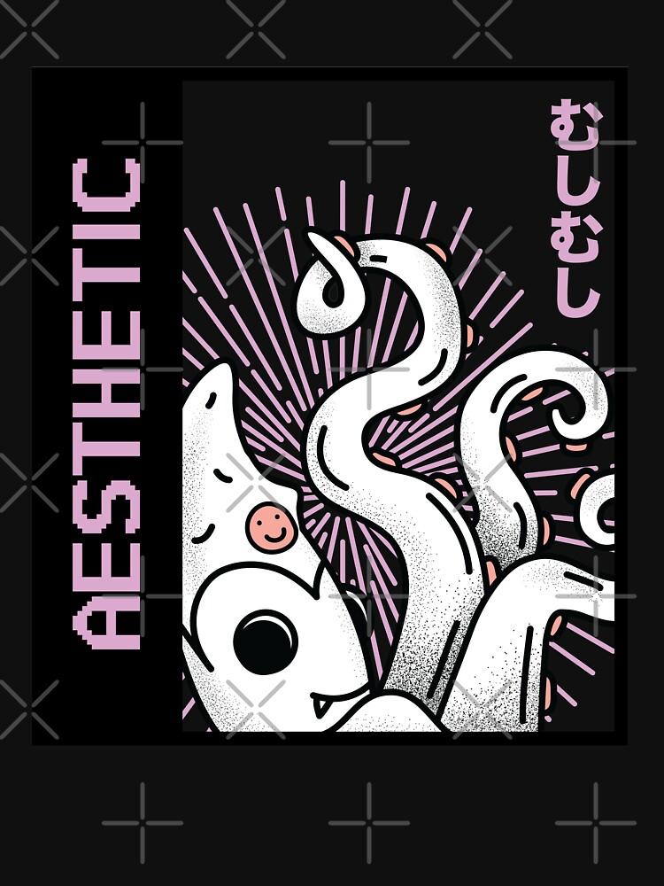 Aesthetic Japan Squid by ockshirts