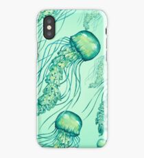- Watercolor Jellyfish pattern - iPhone Case/Skin
