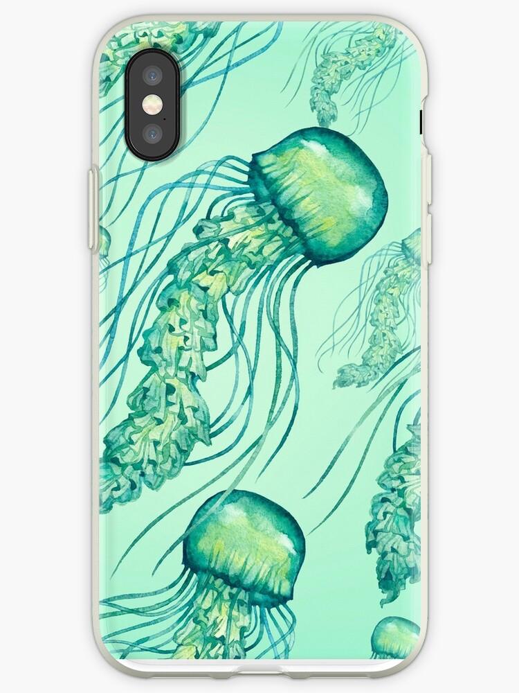 - Watercolor Jellyfish pattern - by Losenko  Mila